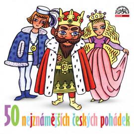 50 nejznámějších českých pohádek - CD