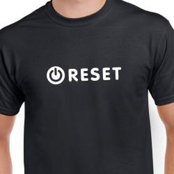 Tričko Reset, aneb zkus to znovu