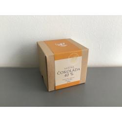 Čokoládové penízky v krabičce - mléčná čokoláda 40%