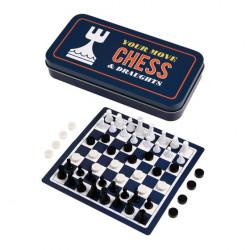 Cestovní šachy a dáma pro každou příležitost