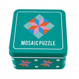 Mozaika v plechové krabičce