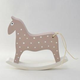 Houpací koník - růžový