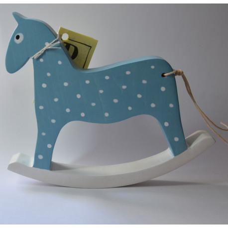 Houpací koník - modrý