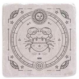 Mramorový tácek - znamení zvěrokruhu