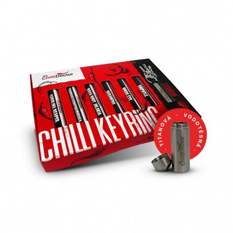 Dárkový chilli box s klíčenkou