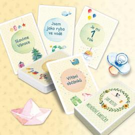 Milníkové kartičky Jak rostu