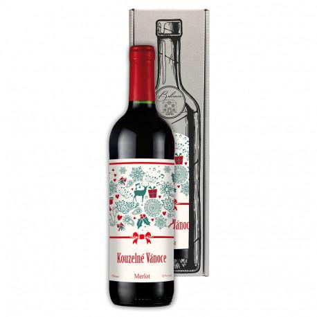 Vánoční červené víno - Merlot