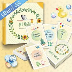 Jak rostu + milníkové kartičky