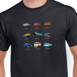 Tričko Tajemné názvy lokomotiv