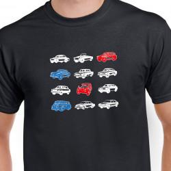Tričko Československá auta