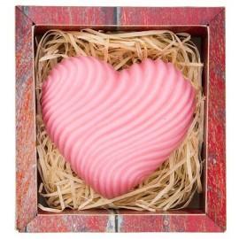 Ručně vyráběné mýdlo ve tvaru srdce