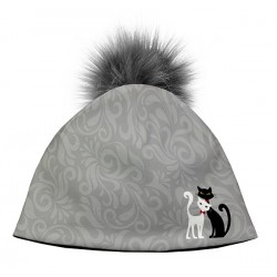 Kočičí čepice Black & White