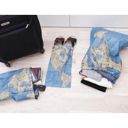 Kolem světa - sada cestovních sáčků