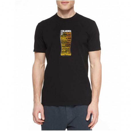 Tričko - pivo slovogram