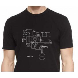 Originální tričko JAWA